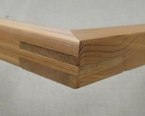 マルオカキャンバス木枠の特徴 - 二重ホゾ組手